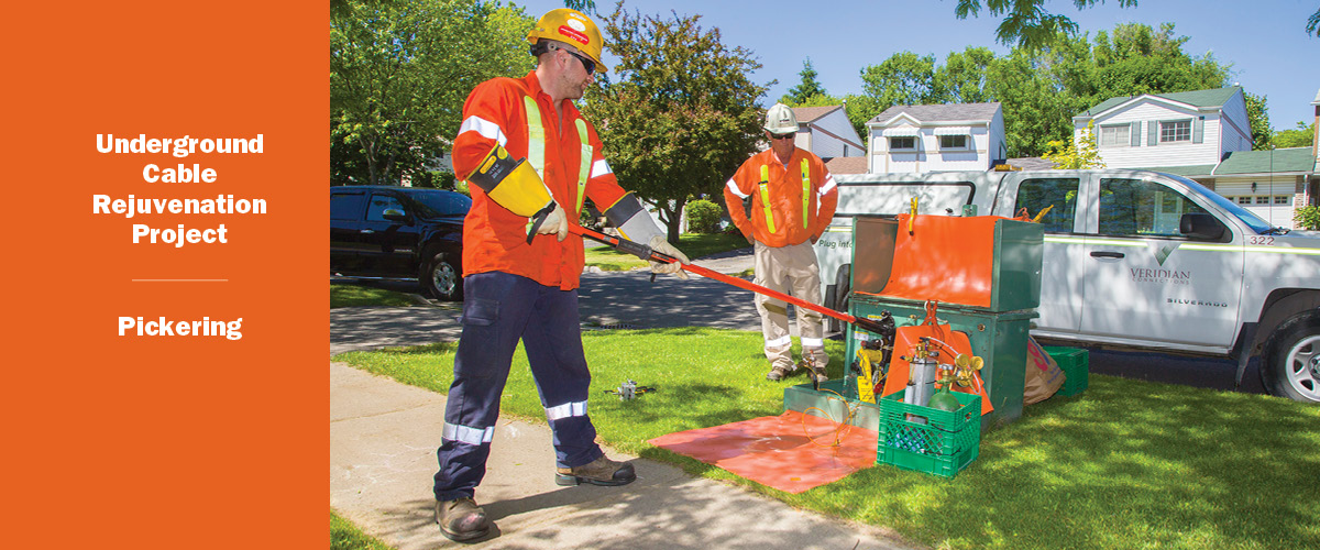 Underground Cable Web Banner - Pickering