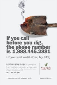 Call Before You Dig Poster